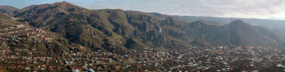 Goris, Panorama, from the west